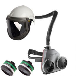 Powered Air - Duraflow & FH6 Helmet - Ammonia & Toxic Particles